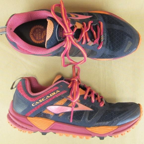 55437101195 Brooks Cascadia 11 Trail Running Sneakers US 7 B